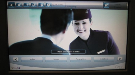 Z pokładu: Qatar Airways!