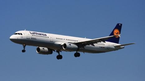 Pożar silnika w Airbusie Lufthansy