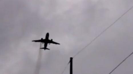 Londyn: Awaryjne lądowanie Airbusa (FILM)