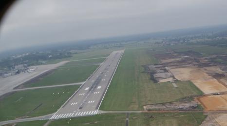 Inwestycje Katowice Airport z lotu ptaka!