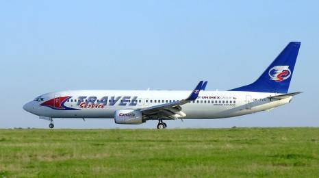 Boeing Travel Service wypadł z pasa