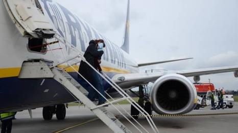 Modlin: 100 tys pasażerów w styczniu