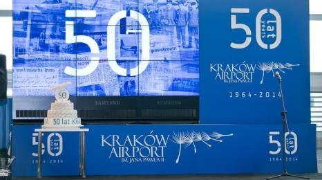 Kraków Airport ma 50 lat!