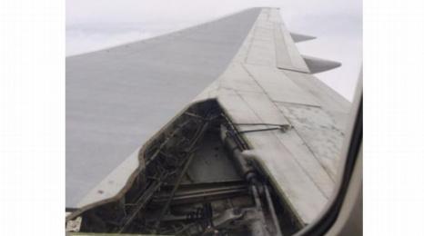 Delta: w czasie lotu odpadł fragment skrzydła