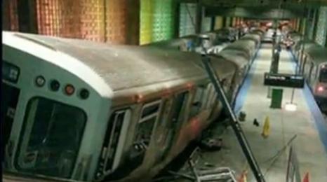 Wypadek na lotnisku w Chicago