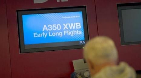 A350: Próbne loty długodystansowe