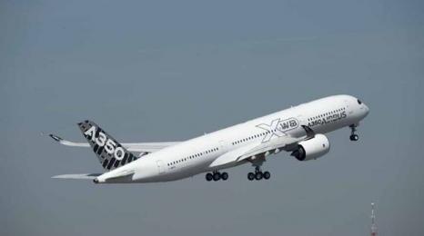 Piąty A350 wzbił się w powietrze
