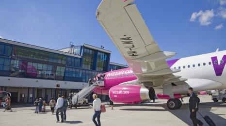 Wizz Air otworzył bazę w Rydze