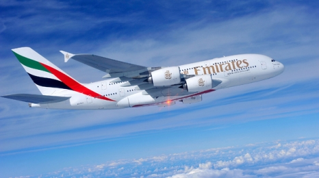 Najkrótsza trasa na A380 z Emirates