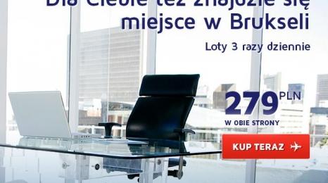 LOTem do Brukseli za 279 zł!