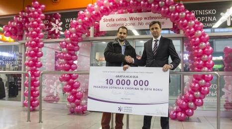 Warszawa: Obsłużono 10-milionowego pasażera