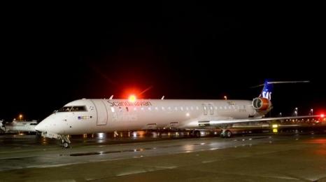 Większe samoloty SAS w Poznaniu