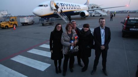 Gdańsk: 3,5 mln pasażerów Ryanair