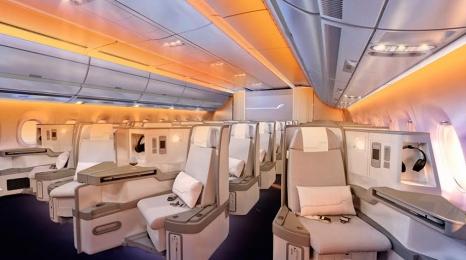 A350 Finnaira nagrodzony za wnętrze
