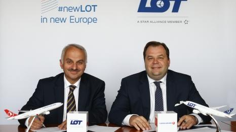 Strategiczna umowa LOTu i Turkisha podpisana