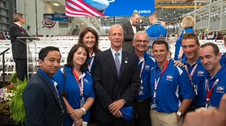 Airbus otwiera zakłady w USA