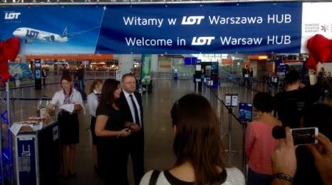 LOT uruchomił swój hub w Warszawie