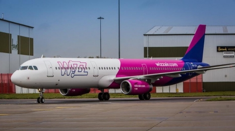 Airbus A321 we flocie Wizz Air