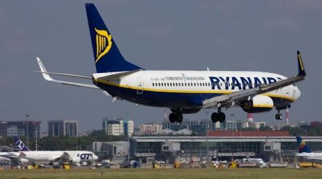 Ryanair przewiózł 101 milionów pasażerów