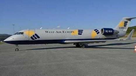 Katastrofa Bombardiera CRJ200 w Skandynawii