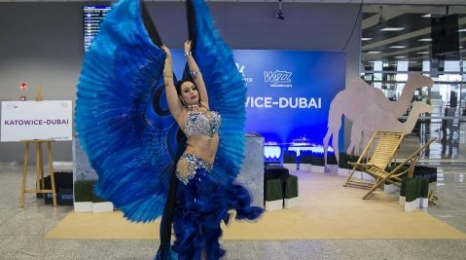 Katowice: Zainaugurowano rejsy do Dubaju