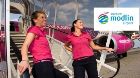 Wizz Air pierwszym przewoźnikiem w Modlinie?