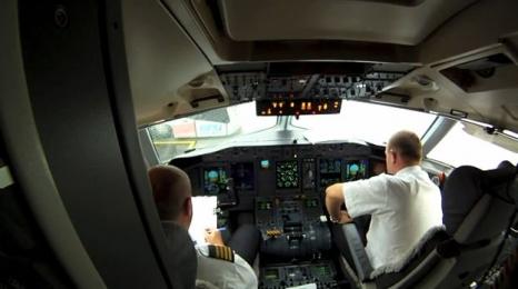 Z wizytą w kokpicie Bombardiera! (film)
